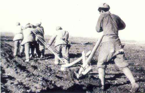 1954-8-6 The formation of new Chinese Xinjiang Production and Construction Corps