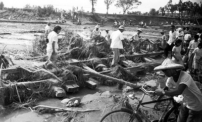 1959-8-7 The central and southern Taiwan August 7 flood disaster