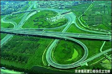 1995-8-8 Tianjin-Tanggu Expressway opened to traffic after acceptance