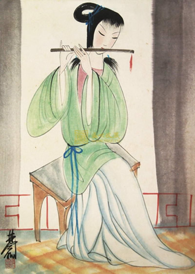 1991-8-12 Painter Lin Feng Mian died in Hong Kong