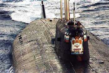 "2000-8-12 The world's most serious nuclear submarine accident ""Kursk"" sank"