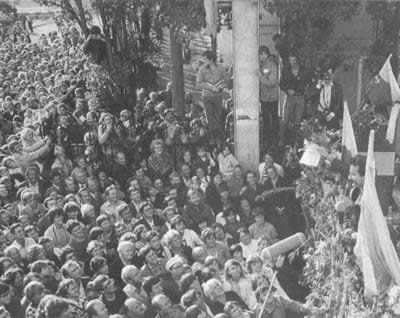 1980-8-14 Polish workers strike