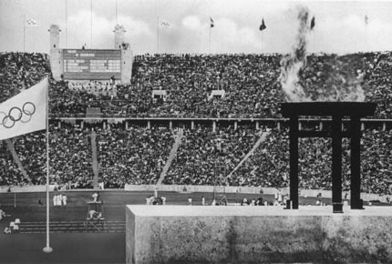 1936-8-16 Eleventh Olympic Games open in Berlin