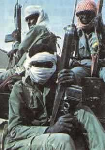 1983-8-16 French intervention in the Chad civil war