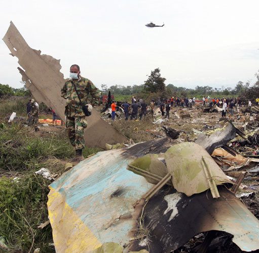 2005-8-16 Colombian airliner crashed in Venezuela, 160 people were killed
