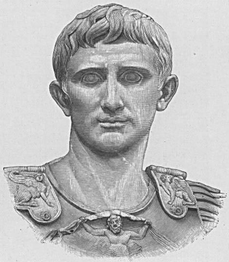 古罗马帝国开国皇帝渥大维逝世