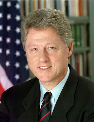 1946-8-19 Bill Clinton, the 42nd president of the United States, was born