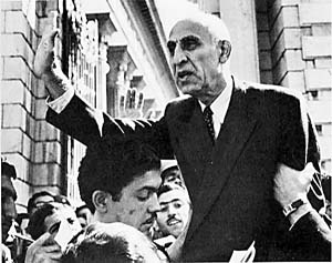 1953-8-19 Iran Mossadegh government was overthrown