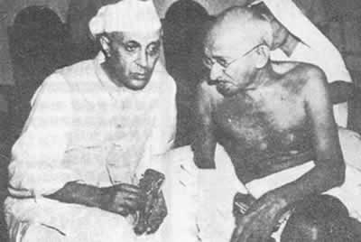 1946-8-24 The Nehru of any temporary heads of government of the India