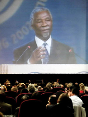 2002-8-26 World Summit on Sustainable Development held in South Africa