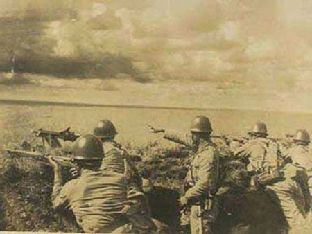 1939-8-30 Japanese forces in the Battle of Nomonhan fiasco