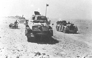 1942-8-30 The outbreak of the Battle of North Africa Alam Halfa