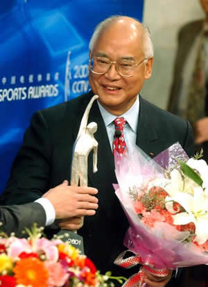 1989-8-30 Zhenliang was elected Vice-Chairman of the International Olympic Committee