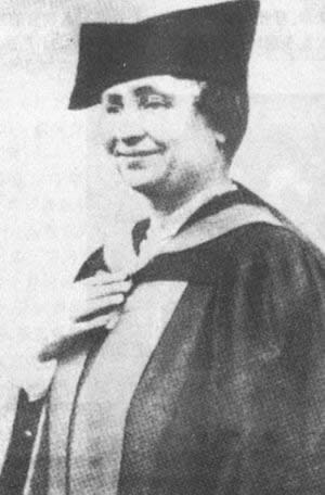 1904-9-1 Radcliffe College degree granted to Helen Keller