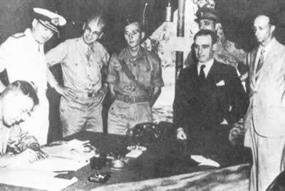 1943-9-3 Italy surrendered to the Allies