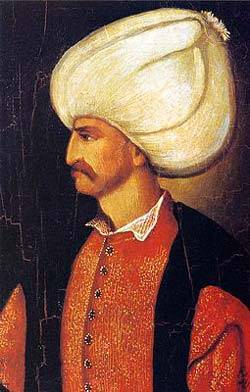 1566-9-5 Ottoman Turkish Empire returning to open the Great's death