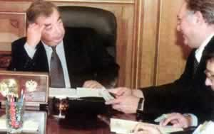 1998-9-11 Primakov served as Russia's new prime minister