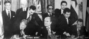 1977-9-7 The Governments of the United States and Panama signed a new Panama Canal treaty