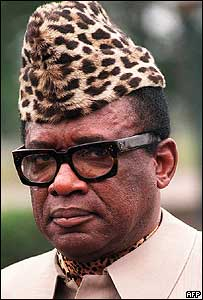 1997-9-7 Former Zaire President Mobutu off dead Morocco