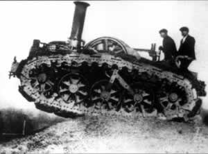 "1916-9-15 Tanks used for the first time in the ""war"" displayed their prowess"