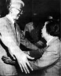 "1988-9-15 Yingchao met with Taiwan's ""Legislative Yuan"" Hu Qiuyuan"