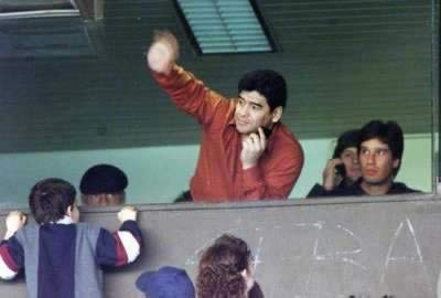 1995-9-18 Maradona to create the world players' union