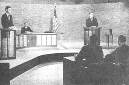 1960-9-26 Kennedy and Nixon first TV debate