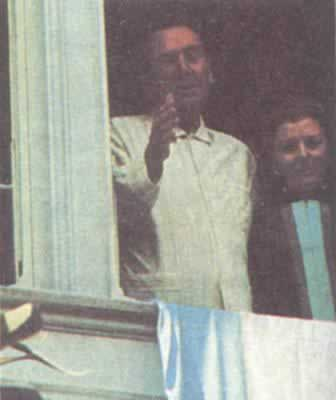 1973-9-23 Juan Peron was re-elected president of Argentina